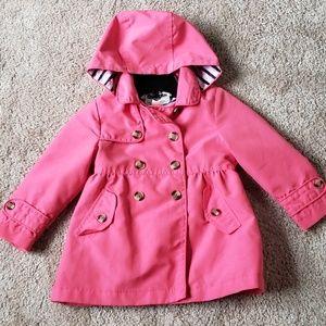 Pink coat with hoodie  Oshkosh
